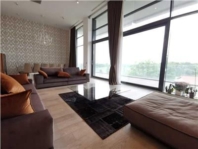 Penthouse 5 rooms For Rent In One Floreasca Lake